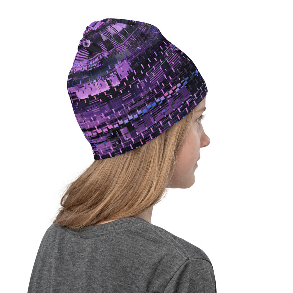 Cyberpunk Purple Neck Gaiter