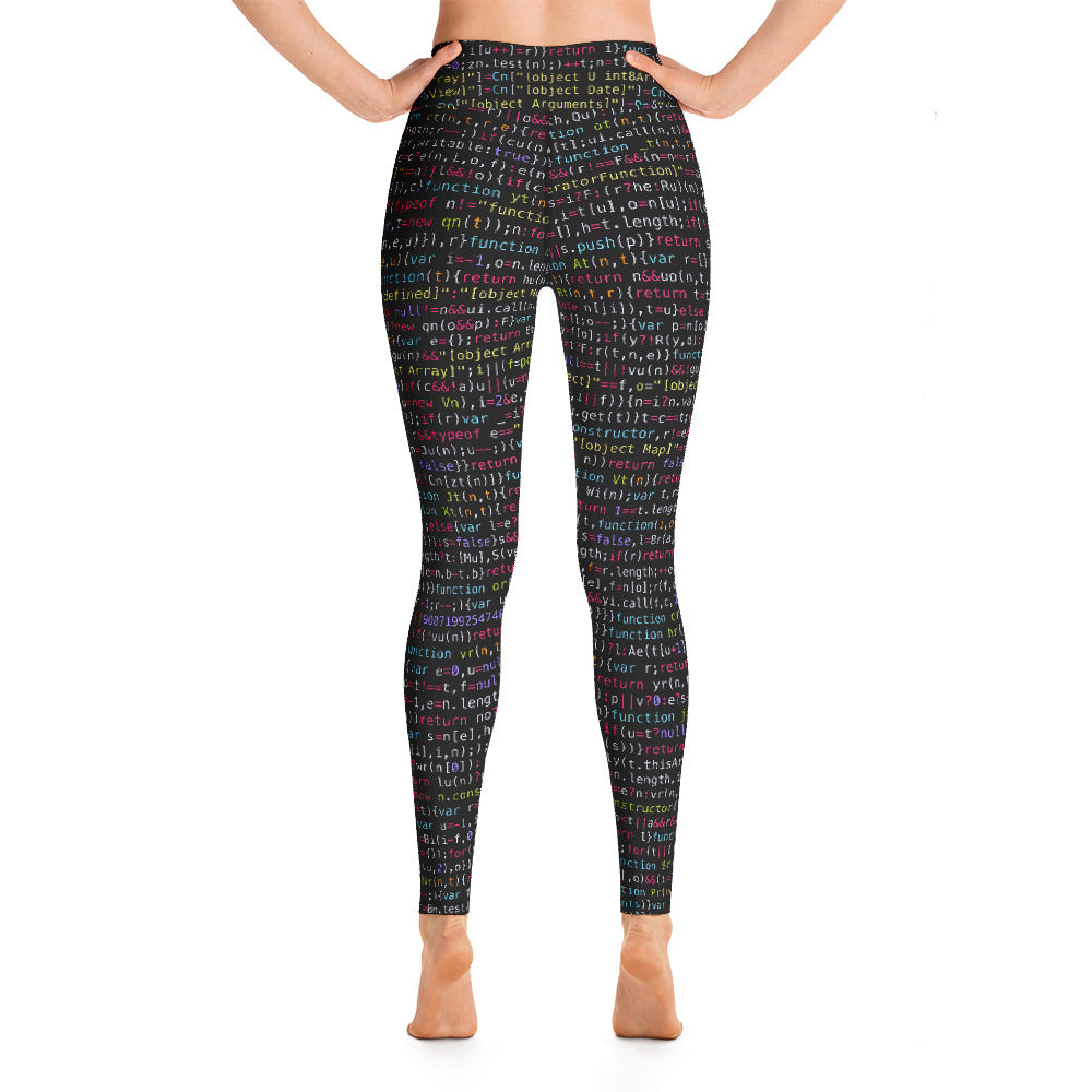 JavaScript Yoga Leggings