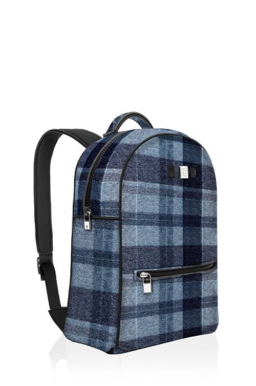 Backpack: Wool Blue