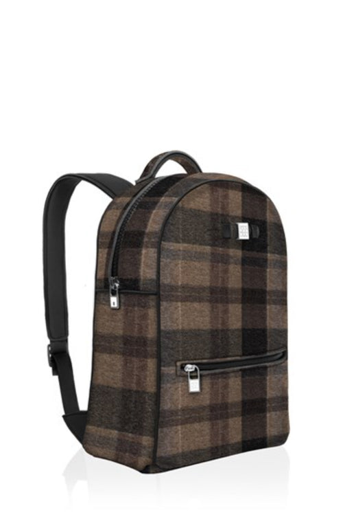 Backpack: Wool Brown