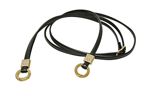 Mini Gold Strap: Nero