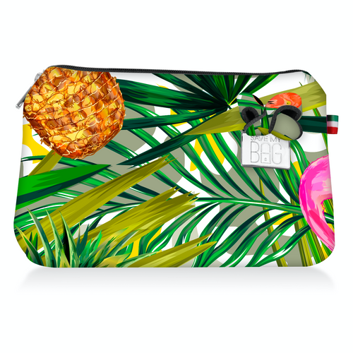 Pouch Large: Tropical