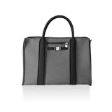 Grey Melange City Tote