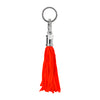Bright Orange Jellyfish Keychain Bag Charm