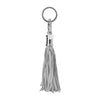 Metallic Silver Jellyfish Keychain Bag Charm