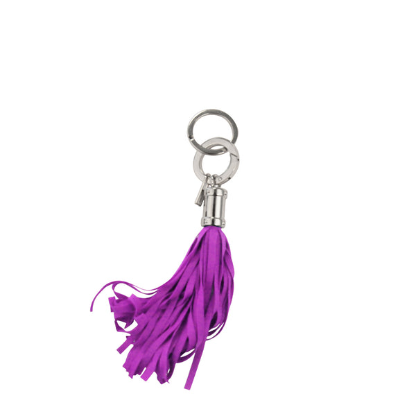 Orchid Pink Jellyfish Keychain Bag Charm