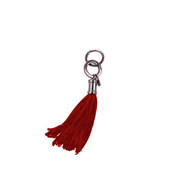 Ox Blood Jellyfish Keychain Bag Charm