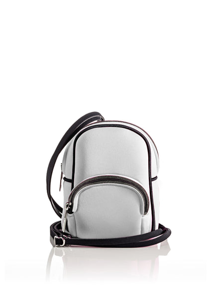 Save My Bag Mini Backpack Metallic Silver
