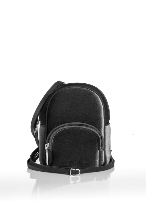 Save My Bag Mini Backpack Velvet Black