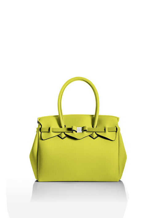 Acid Green Tote Bag