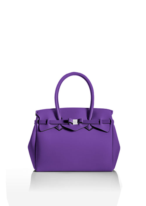 Amethyst Purple Tote Bag