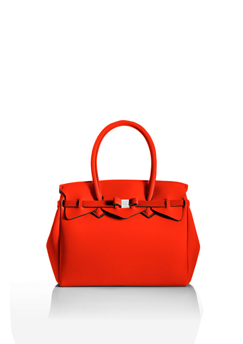 Bright Orange Tote Bag