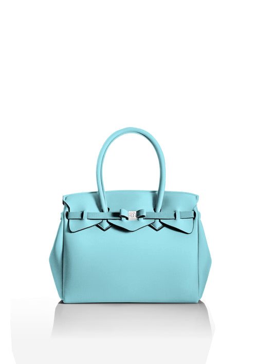 Light Blue Tote Bag