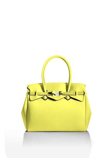 Pastel Yellow Tote Bag