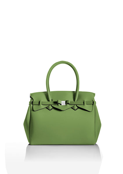Soft Green Tote Bag