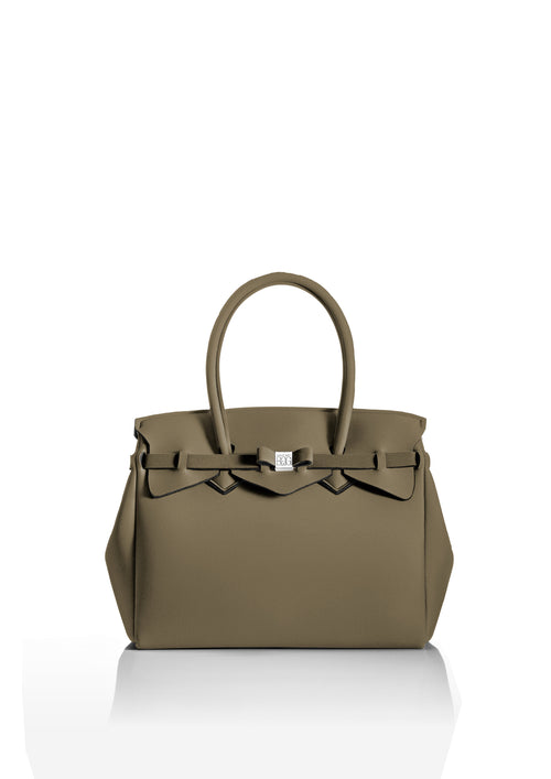Taupe Beige Tote Bag