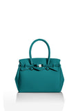 Teal Blue Green Tote Bag