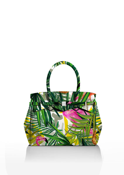 Save My Bag Miss Tote Tropical Print