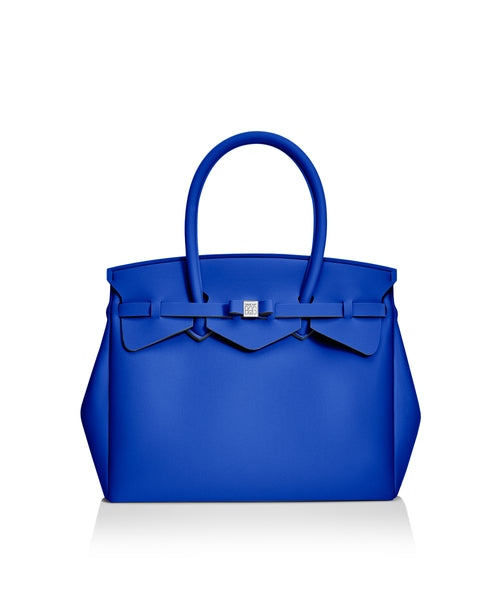 Cobalt Blue Miss Tote Bag