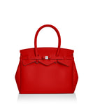 Geranium Red Tote Bag