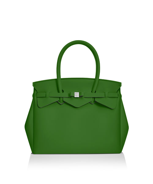 Pine Green Tote Bag