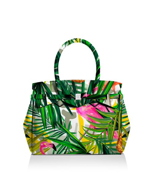 Tropical 3/4 Miss Tote Bag