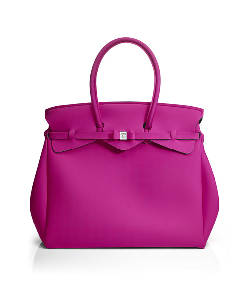 Hot Pink Weekender Tote Bag
