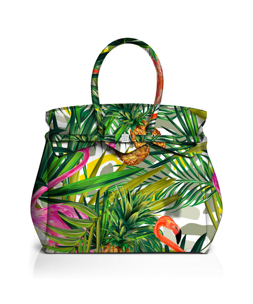 Weekender Bag Tropical Print