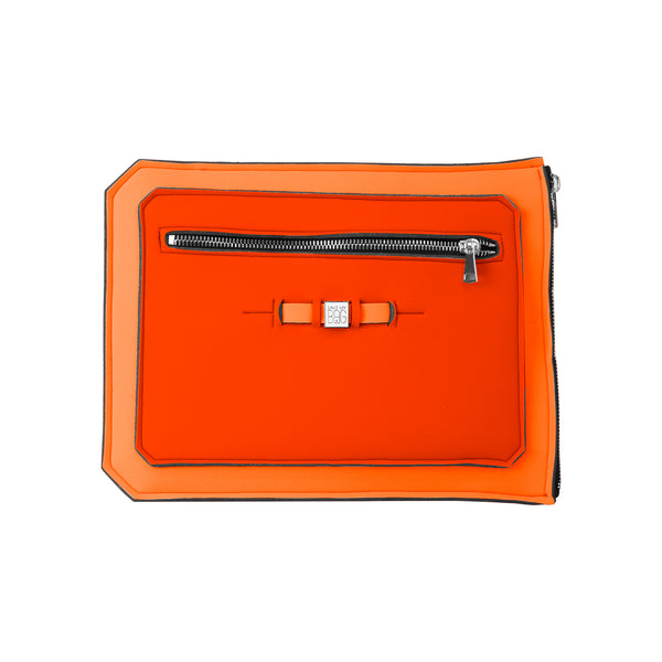 Orange Laptop Case Cover Clutch