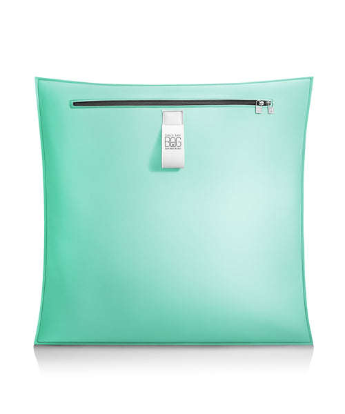 Aquamarine Big Cushion Pillow Cover