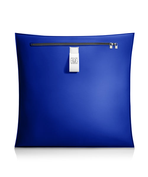 Cobalt Blue Big Pillow Cushion Cover