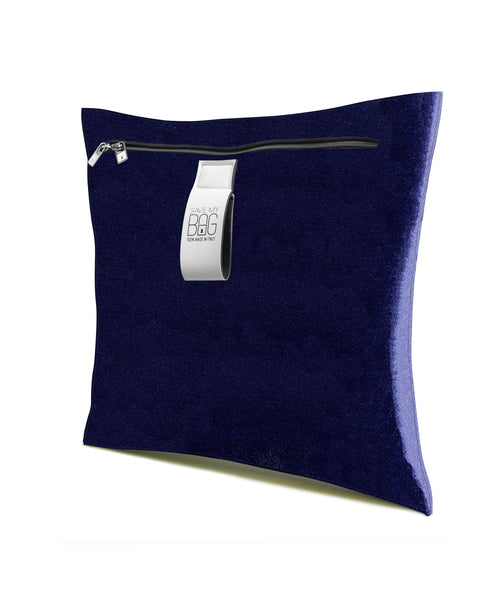 Dark Blue Velvet Cushion Pillow Cover