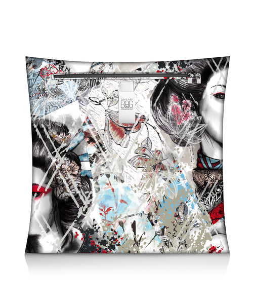Geisha Big Cushion Pillow Cover
