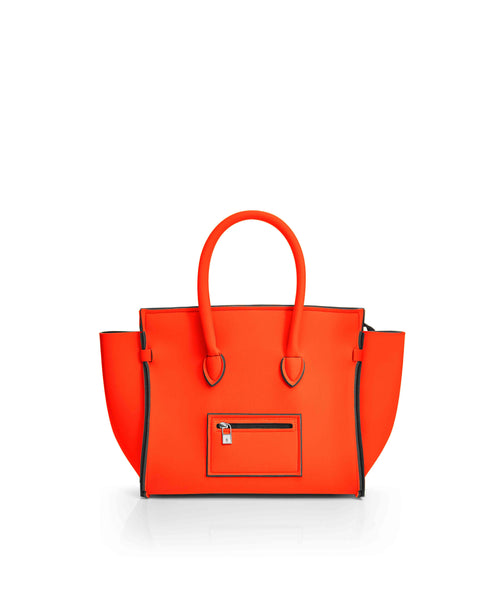 Save My Bag Portofino City Tote Bright Orange