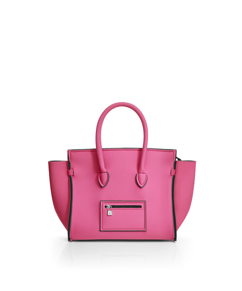 Save My Bag Portofino City Tote Bubblegum Pink