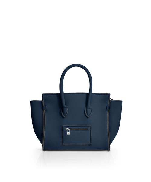 Save My Bag Portofino City Tote Denim Blue
