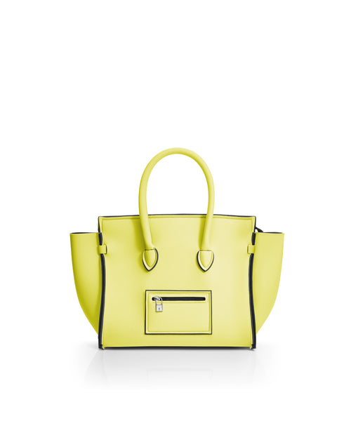 Save My Bag Miss Tote Pastel Yellow