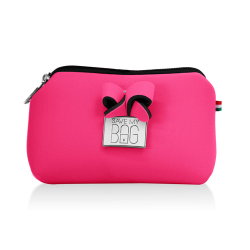 Bubblegum Pink Small Pouch Makeup Case