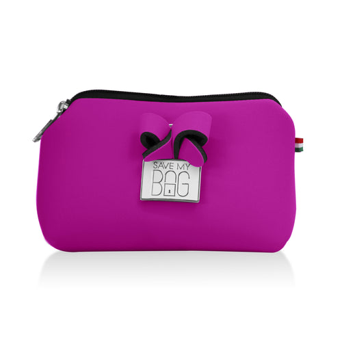 Orchid Pink Small Pouch Makeup Case