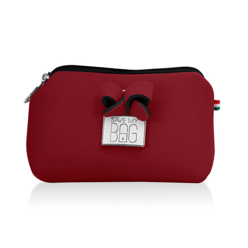 Ox Blood Small Pouch Makeup Case