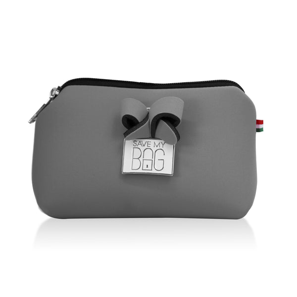 Cloudy Grey Small Pouch Makeup Case
