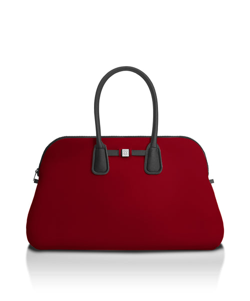 Ox Blood Travel Tote Bag