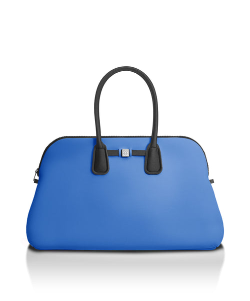 Sapphire Blue Travel Tote Bag