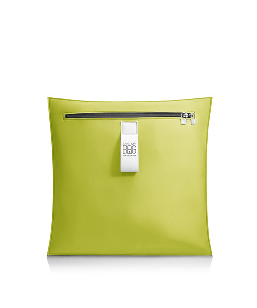 Acid Green Small Outdoor Cushion Pillow
