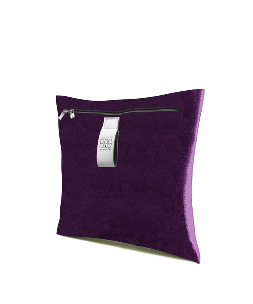 Small Poly Pillow: Velvet Century