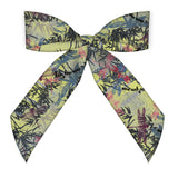 Bamboo Light Green Silk Scarf Bag Accessory and Headband