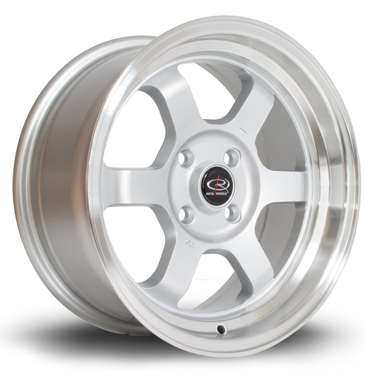 Rota Wheels Grid-V RL Silver - Drop It Shop - AIRLIFT PERFORMANCE