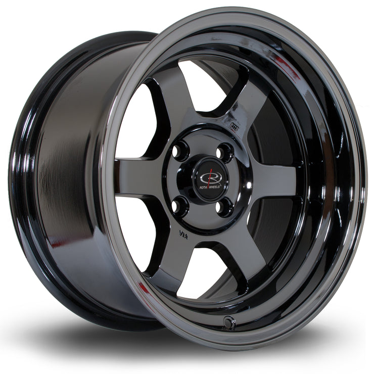 Rota Wheels Grid-V T chrome - Drop It Shop - AIRLIFT PERFORMANCE