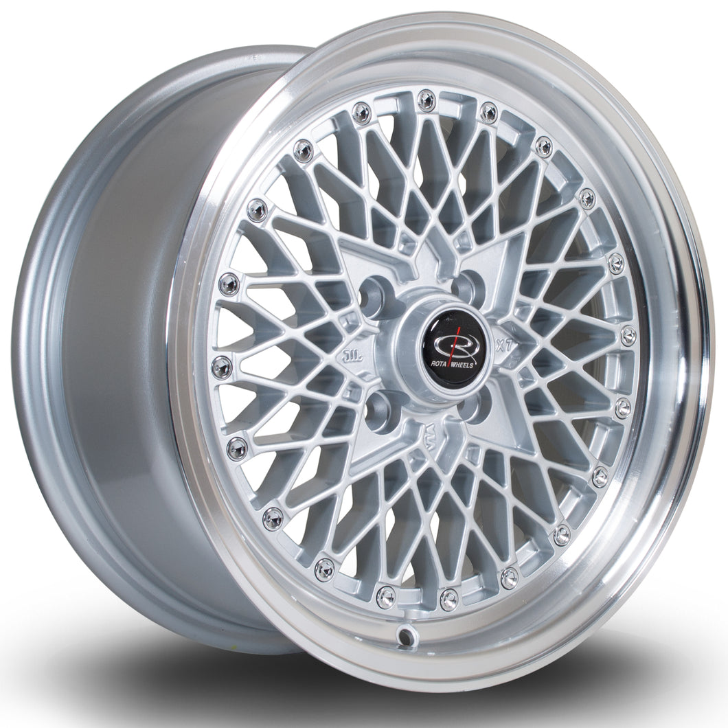 Rota Wheels OSMesh RL Silver - Drop It Shop - AIRLIFT PERFORMANCE