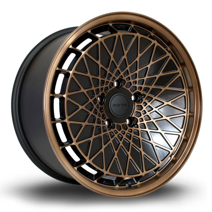 Rota Wheels RM100 SBF Black - Drop It Shop - AIRLIFT PERFORMANCE